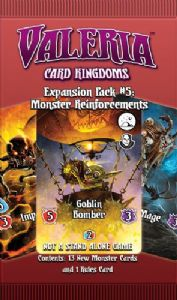 Valeria : Card Kingdoms Expansion Pack #5 – Monsters